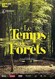 "Movie poster for ""LE TEMPS DES FORETS"""