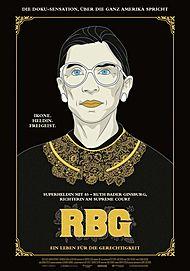 """Filmplakat für """"RBG"""""""