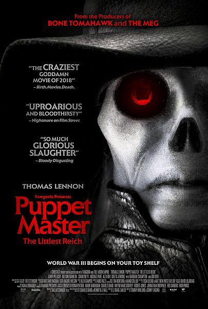 """Movie poster for """"PUPPET MASTER: THE LITTLEST REICH"""""""
