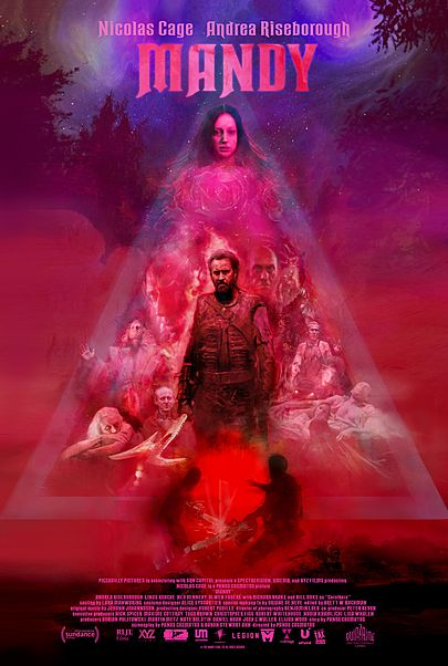 "Movie poster for ""MANDY"""