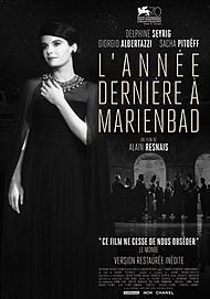 """Movie poster for """"Last Year in Marienbad"""""""