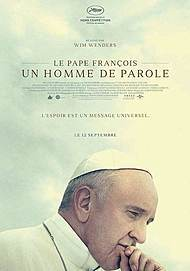 """Movie poster for """"POPE FRANCIS: A MAN OF HIS WORD"""""""