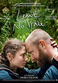 "Movie poster for ""LEAVE NO TRACE"""