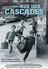 """Movie poster for """"RUE DES CASCADES (Un gosse de la butte)"""""""