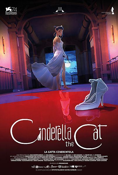"Filmplakat für ""Cinderella the Cat"""