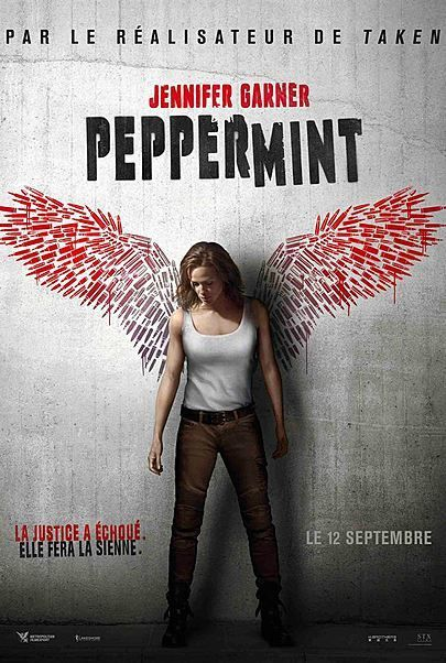 Image result for peppermint movie poster