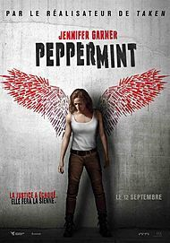 "Movie poster for ""PEPPERMINT"""