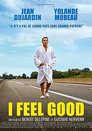 "Movie poster for ""I FEEL GOOD"""
