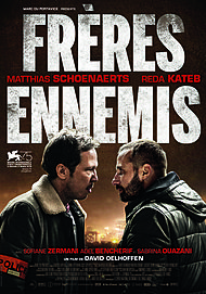 """Movie poster for """"CLOSE ENEMIES"""""""