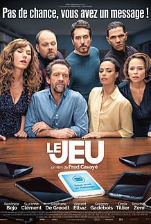 "Movie poster for ""LE JEU"""