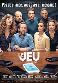 """Movie poster for """"LE JEU"""""""