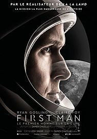 "Movie poster for ""FIRST MAN """