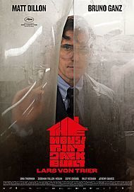 "Movie poster for ""THE HOUSE THAT JACK BUILT - DIRECTOR'S CUT"""