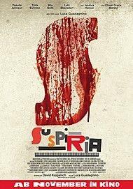 """Filmplakat für """"SUSPIRIA"""""""