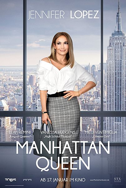 "Filmplakat für ""Manhattan Queen"""