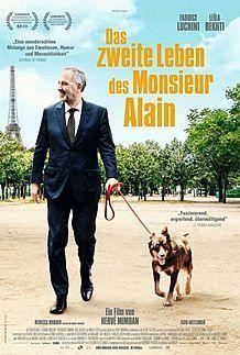 """Filmplakat für """"DAS ZWEITE LEBEN DES MONSIEUR ALAIN"""""""