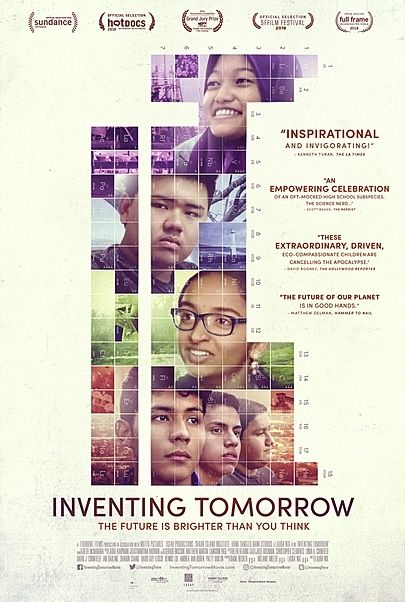 "Movie poster for ""INVENTING TOMORROW"""