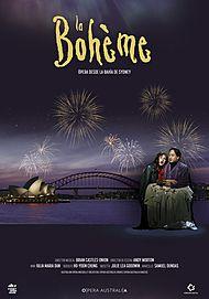 "Movie poster for ""LA BOHEME: HANDA OPERA ON SYDNEY HARBOUR"""