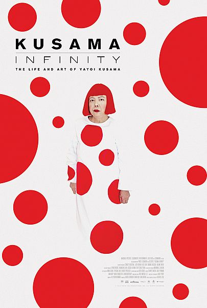 "Movie poster for ""KUSAMA – INFINITY"""