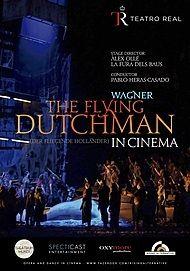 """Movie poster for """"THE FLYING DUTCHMAN (Der Fliegende Hollander) - Teatro Real"""""""