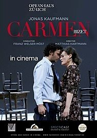 "Movie poster for ""CARMEN (Zurich Opera House)"""