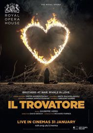 "Movie poster for ""IL TROVATORE - Royal Opera House"""