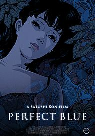 "Movie poster for ""PERFECT BLUE"""