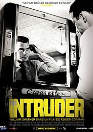 "Movie poster for ""THE INTRUDER"""