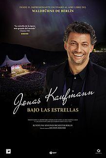 "Movie poster for ""JONAS KAUFMANN: UNDER THE STARS"""