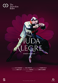 """Movie poster for """"THE MERRY WIDOW: FROM THE AUSTRALIAN BALLET"""""""