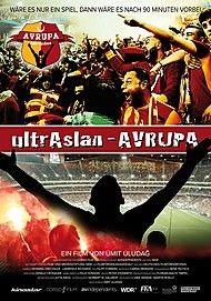 "Movie poster for ""ultrAslan – AVRUPA"""