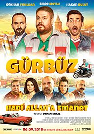 "Movie poster for ""Gürbüz: Hadi Allah'a Emanet"""