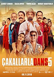"Movie poster for ""Cakallarla Dans 5"""