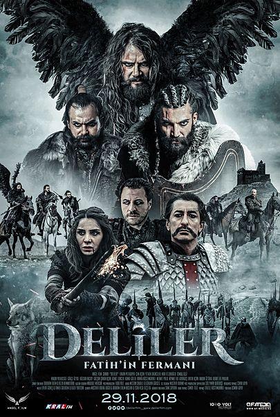 """Filmplakat für """"Deliler Fatih'in Fermanı"""""""