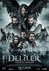 "Movie poster for ""Deliler Fatih'in Fermanı"""