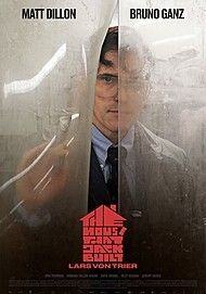 "Movie poster for ""THE HOUSE THAT JACK BUILT"""
