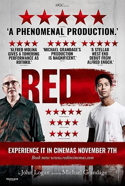 """Movie poster for """"MGC PRESENTS: RED"""""""