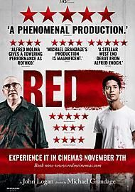"Movie poster for ""MGC PRESENTS: RED"""