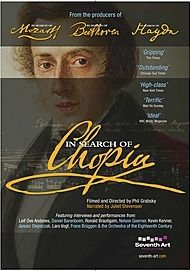 "Movie poster for ""IN SEARCH OF CHOPIN - Exhibition on Screen"""