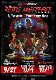 "Movie poster for ""BLOODY DISGUSTING: RETRO NIGHTMARES"""