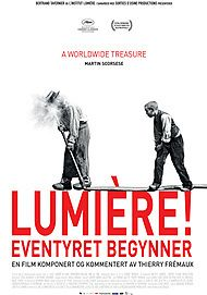 "Movie poster for ""LUMIÈRE!"""