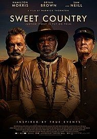 "Movie poster for ""Sweet Country"""