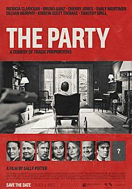 """Movie poster for """"THE PARTY"""""""