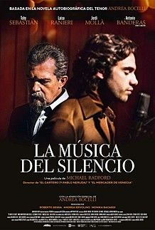 """Movie poster for """"THE MUSIC OF SILENCE"""""""
