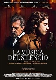 "Movie poster for ""THE MUSIC OF SILENCE"""