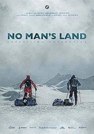 "Movie poster for ""No Man's Land - Expedition Antarctica"""