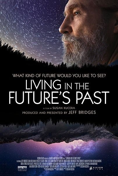"""Movie poster for """"LIVING IN THE FUTURE'S PAST"""""""