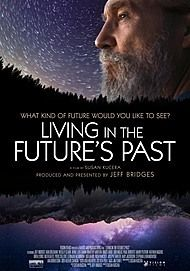 "Movie poster for ""LIVING IN THE FUTURE'S PAST"""