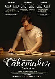 "Movie poster for ""THE CAKEMAKER"""