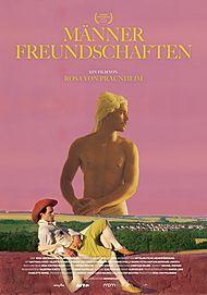"""Filmplakat für """"Männerfreundschaften"""""""